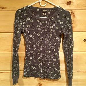 Free People gray thermal, size s